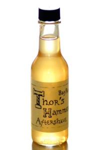 Thor's Hammer Bay Rum Aftershave