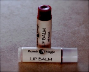 Peppermint Rose Lip Balm for Empaths
